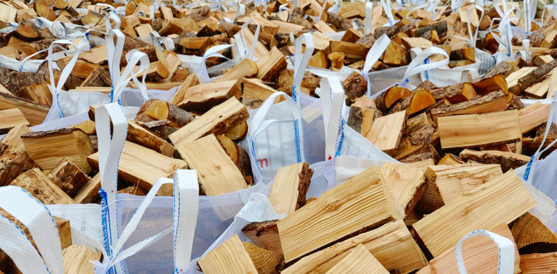 FORCE DRIED SOFTWOOD LOGS